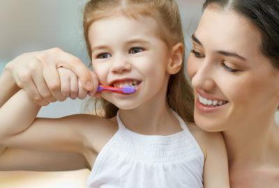 brossage des dents enfants